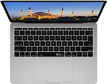 Cubierta del Teclado Turco QWERTY ISO, para MacBook Pro con Touch Bar (Late 2016)