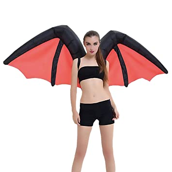 THEE Disfraces Inflable Murcielagos Demon Bat Traje ...