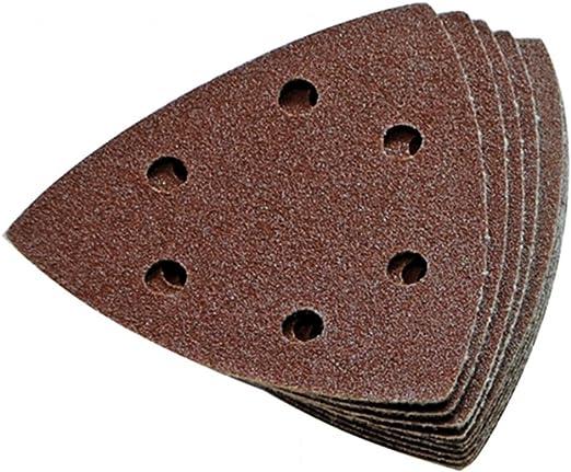 60 CMC 40-240 Delta Disques de pon/çage adh/ésifs professionnels Grain de m/élange 93 x 93 mm