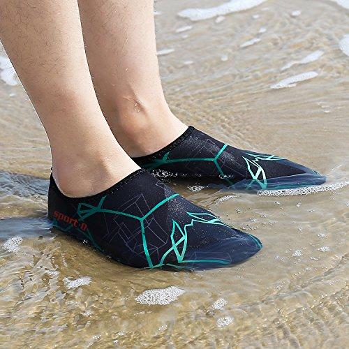 für B Damen Aquaschuhe Wasserschuhe Herren Pastaza Surfschuhe Schwarz Kinder Barfußschuhe Schwimmschuhe Strandschuhe Badeschuhe CRWwq0