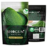 Shogun - Organic Premium Matcha Green Tea Powder - Natural Farming - 4oz Pack - Made in Taiwan (Prime Grade)