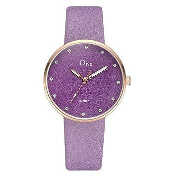 WZFCSAE Reloj Mujer Relojes Mujer Imán de Oro para Mujer ...