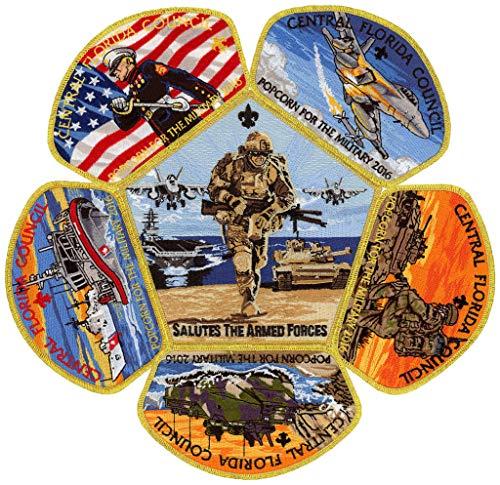 2016 Central Florida Council Military CSP Boy Scout Patch Badge Set BSA Lot Jamboree