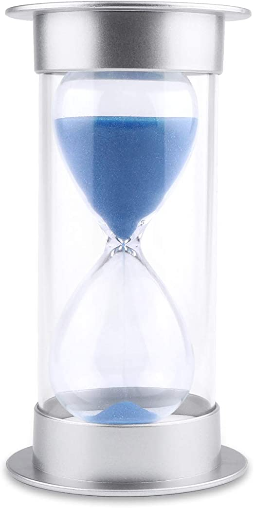 Hourglass Sand Timer 5/10/15/30/45/60 minutes Sand glass Timer for Romantic Mantel Office Desk Book Shelf Curio Cabinet Christmas Birthday Gift Kids ...
