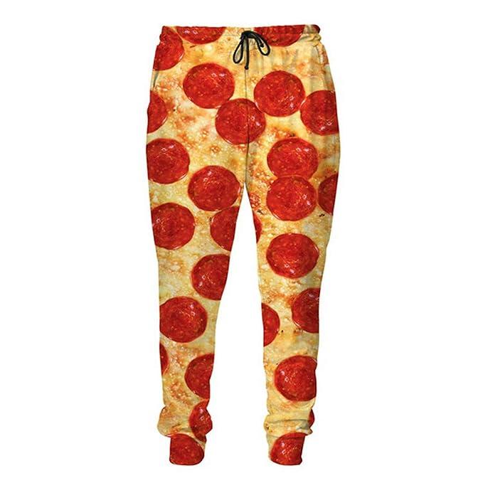 SETHKLEW Pantalones de chándal con Estampado 3D para Hombre y ...