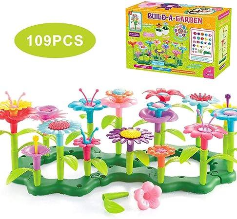 Juguetes De Arreglos Florales para Niños, Adecuados para Juguetes De Jardín para Niños DIY De 3-6 Años, Juguetes En Macetas De Simulación para Niños (15 Pulgadas 3.3 Pulgadas 11 Pulgadas): Amazon.es: Hogar