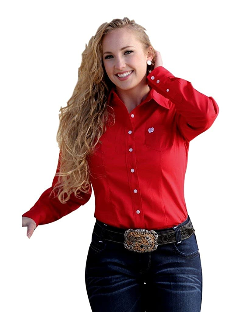 d390c3aa7f7 Womens Red Western Shirts - DREAMWORKS