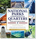 img - for National Parks Commemorative Quarters Collector's Map 2010-2021 (includes both mints!) book / textbook / text book