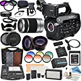 Sony PXWFS7 XDCAM Camera With Sony E-Mount 55-210mm Lens, Professional 162 LED Light Kit, Sony 64GB G Series XQD Format Version 2 Memory Card and more...