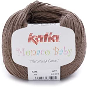 Katia Yarns, Brown, 7 - MONACO BABY