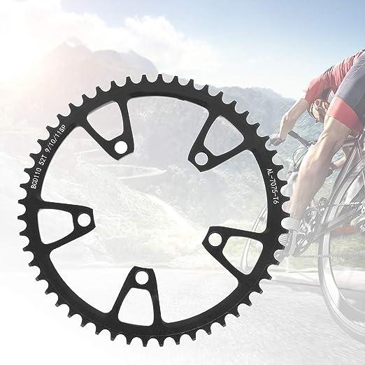 Keenso Plato de Bici, Aleación de Aluminio Monoplato 110 BCD ...