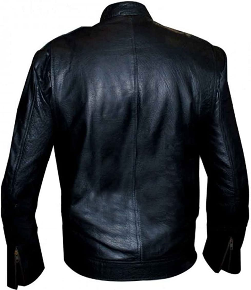 Chicago PD Jon Seda Antonio Dawson Stylish Casuel Wear Real Leather Jacket