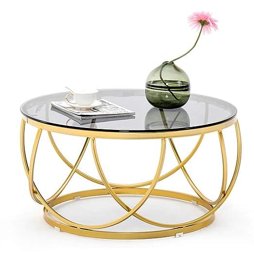 KUKU-mesas de centro Mesita Decorativa de Hierro Forjado ...