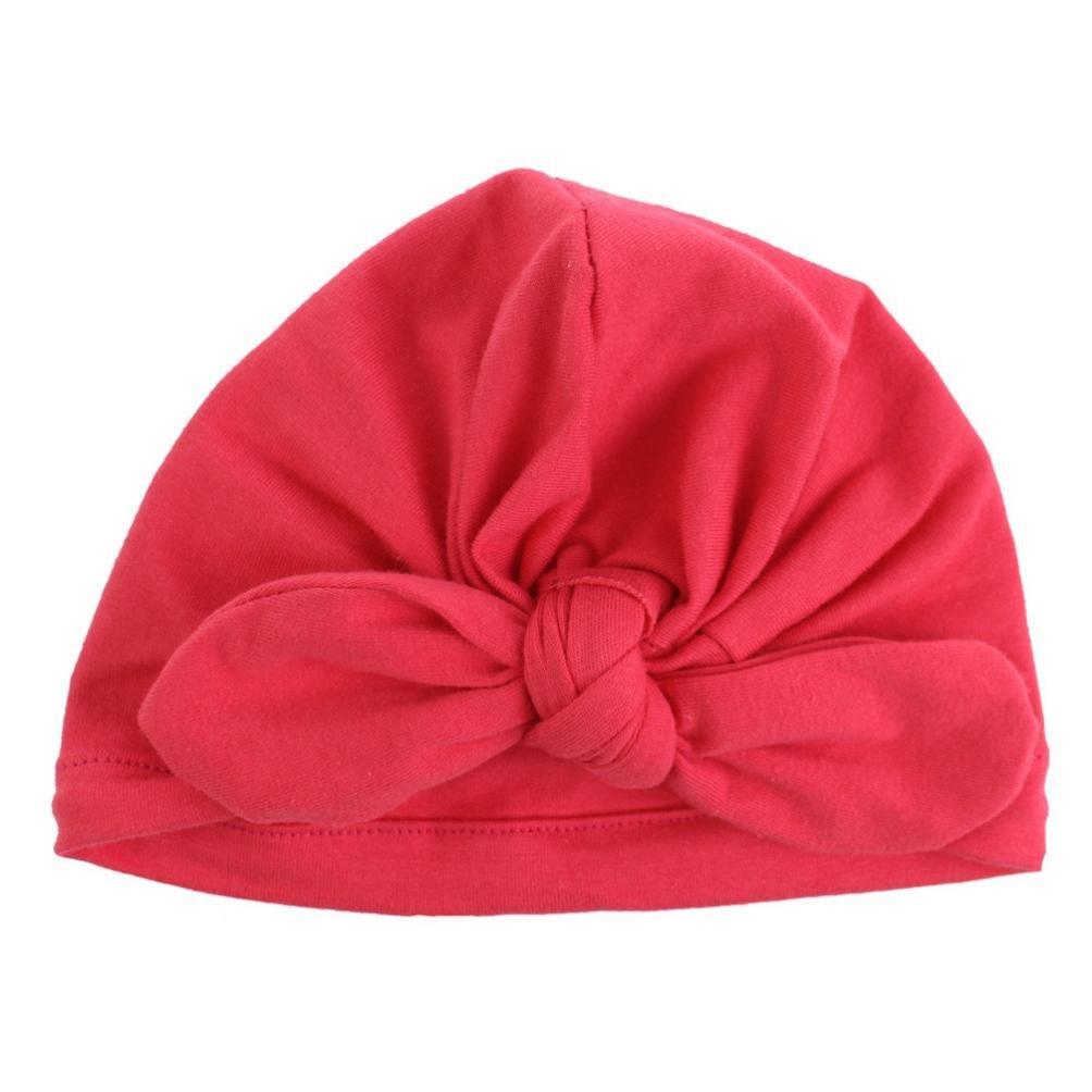 Inkach Winter Hats Cute Toddler Baby Girls Bowknot Beanie Hats Keep Warm Caps