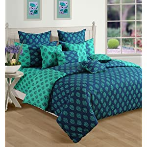 Swayam Printed Double Bed Sheet Set