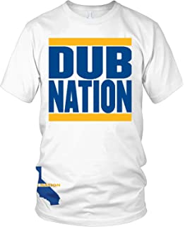 b332416e550 Amazon.com  Millionaire Mentality Dub Nation Black   Gold T-Shirt ...
