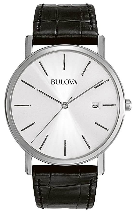 Bulova Men's 96B104 Silver Dial Dress Watch Review