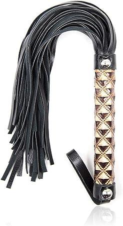 Triplsun Whip Flirt Castigo Slave Catwoman Bdsms Accesorios Cuero Whip: Amazon.es: Deportes y aire libre