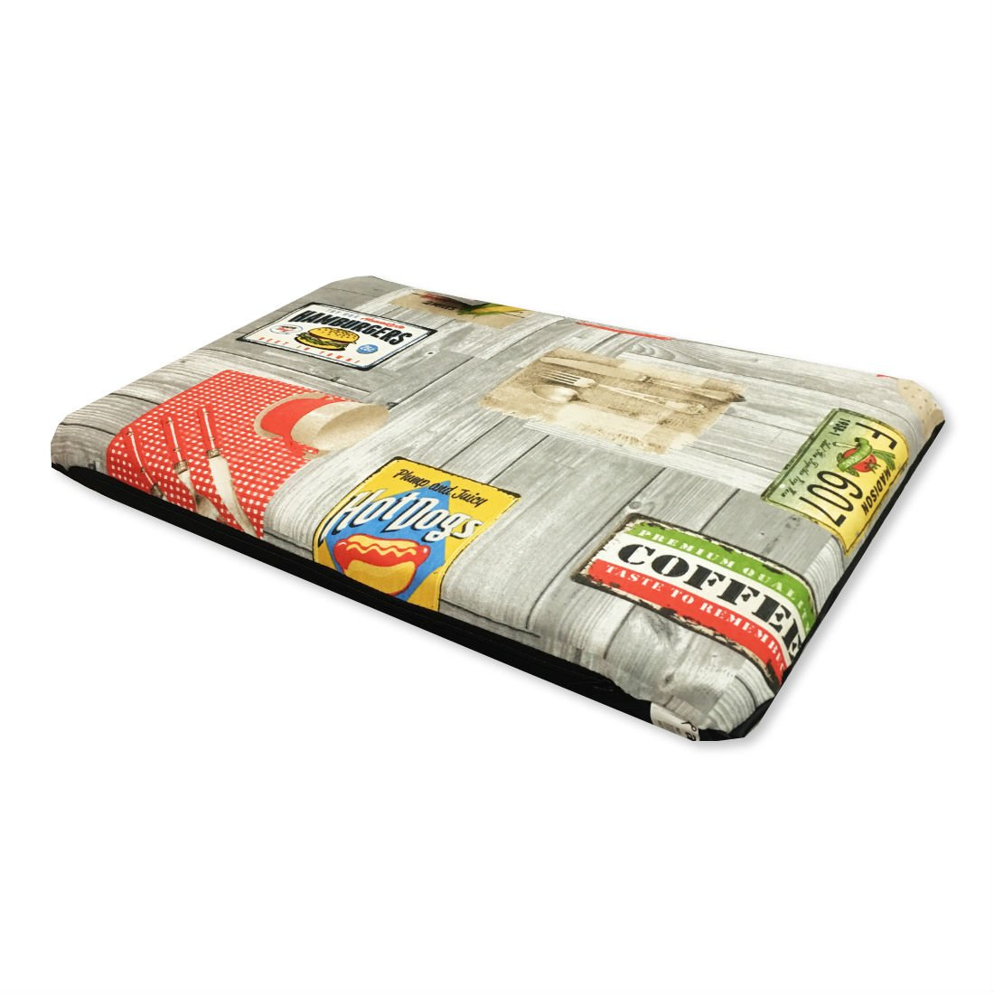 arppe Colchoneta Perro, Gato 60x40x7cm diseño Food: Amazon.es ...
