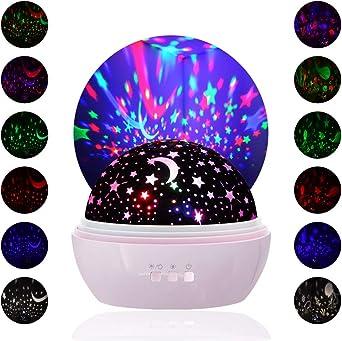 Luces nocturna para niños, Proyector de luz nocturna, lámparas ...