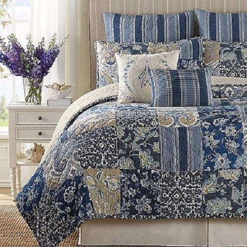 b-smith-block-island-euro-sham-multi-color-blue