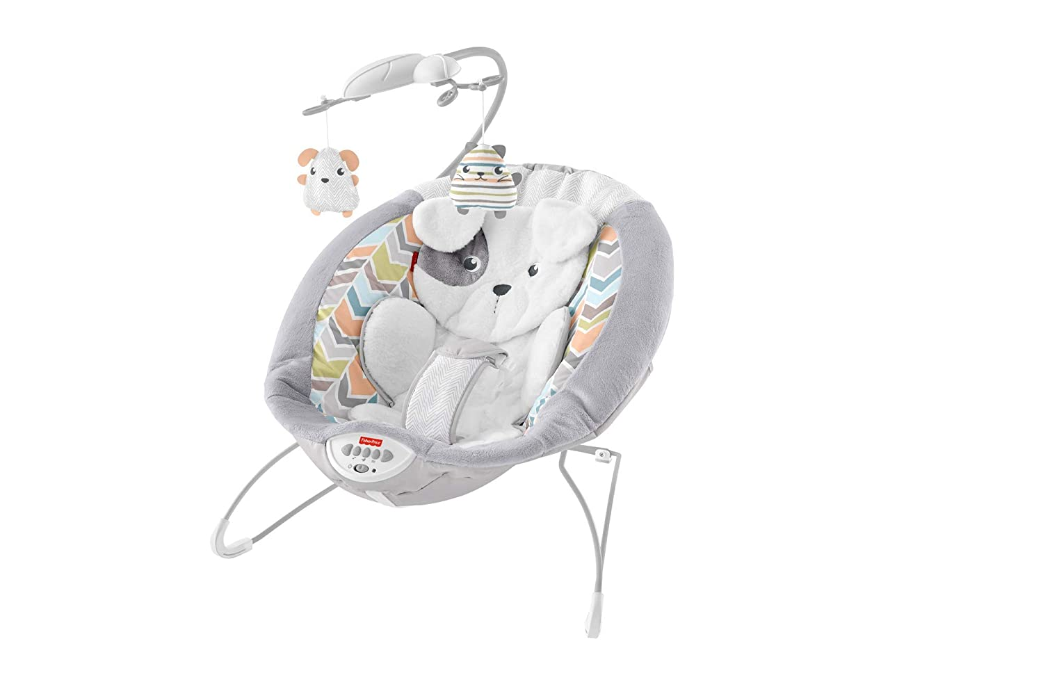 Fisher-Price Deluxe Bouncer Sweet Dreams Snugapuppy