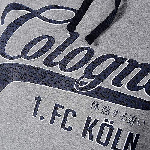 "1. FC Köln Herren Hoodie ""Guts-Muths-Weg"" Gr. M-5XL"