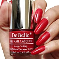 DeBelle Gel Nail Lacquer Moulin Rouge - 8 ml (Maroon Nail Polish)