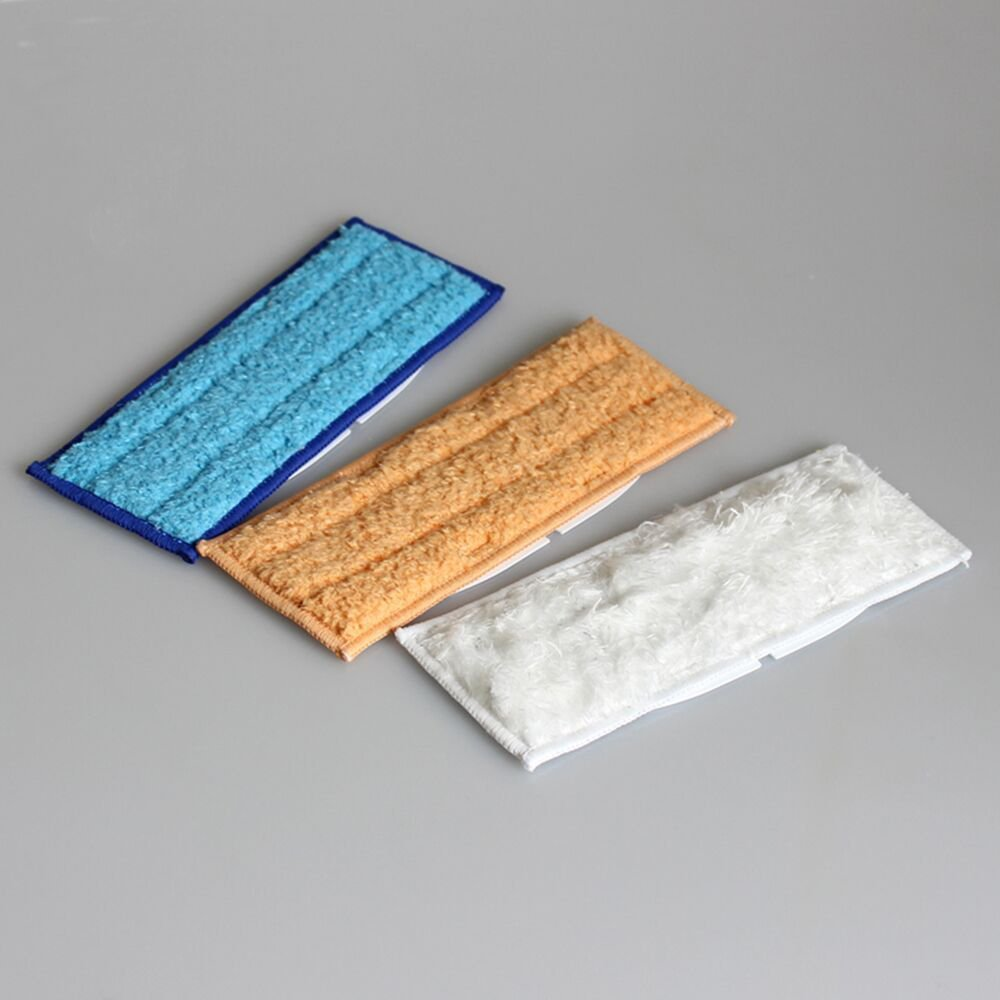 Set von 3/Mikrofaser waschbar Wet /& feuchten /& Dry Fegen Pad zu wischen Pads T/ücher f/ür iRobot Braava Jet 240