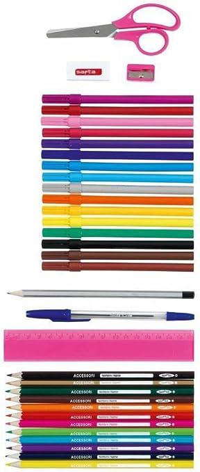 DREI-Etagen-Schule Bleistift-Box mit Ger/äten schmale Ever After High