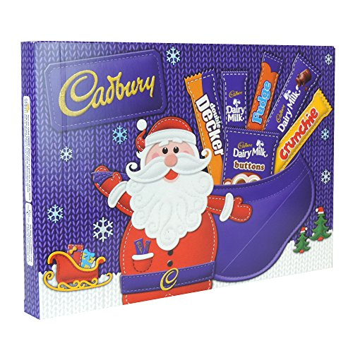 Cadbury Selection Pack - Cadbury Christmas Candy 8 x Medium Santa Selection Box