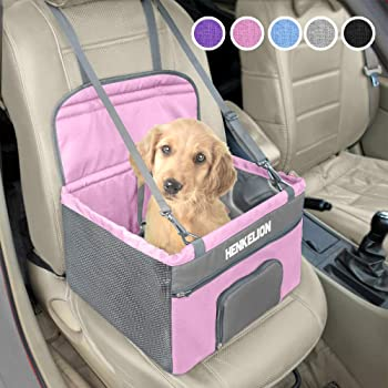 Henkelion Booster Reinforced Metal Frame Construction Dog Car Seat