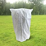 OriginA Plant Covers Summer Shading Protection Bags for Outdoor Trees Shrub Jacket Bug/Insect Barrier Bag, 0.95oz/sq.yd, Height 74'' x Dia 72''x 12''