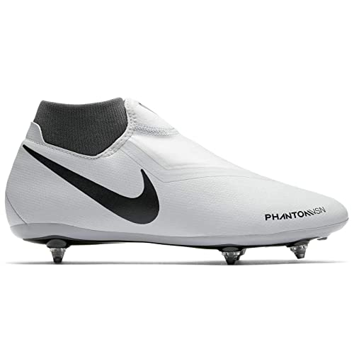 Nike Jr Phantom Vsn Academy DF SG, Zapatillas de fútbol Sala Unisex Adulto, (Pure Platinum/Black/Lt Crimson/Dark Grey 060), 38.5 EU: Amazon.es: Zapatos y ...