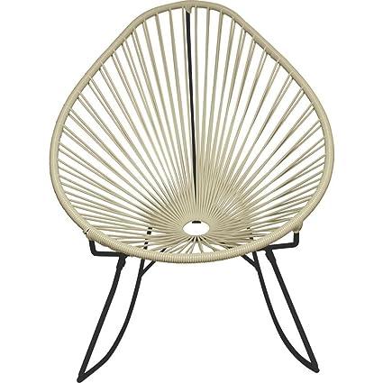 Amazon.com: innit diseños Acapulco Rocker silla   Negro ...