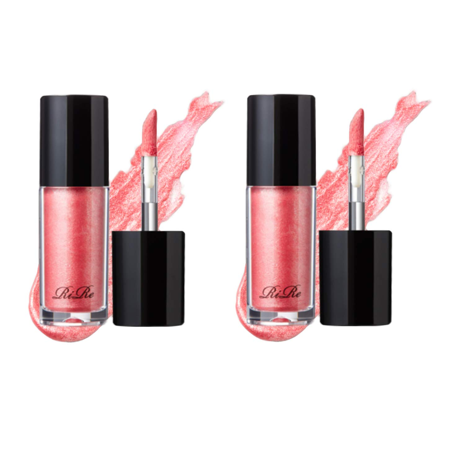 RiRe Luxe Liquid Shadow 5g \/ 0.17oz Pack of 2 (Pink dress)