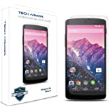 Tech Armor Google Nexus 5 Premium Ballistic Glass Screen Protector - Protect Your Screen from Scratches and Drops - Maximize Your Resale Value - 99.99% Clarity and Touchscreen Accuracy