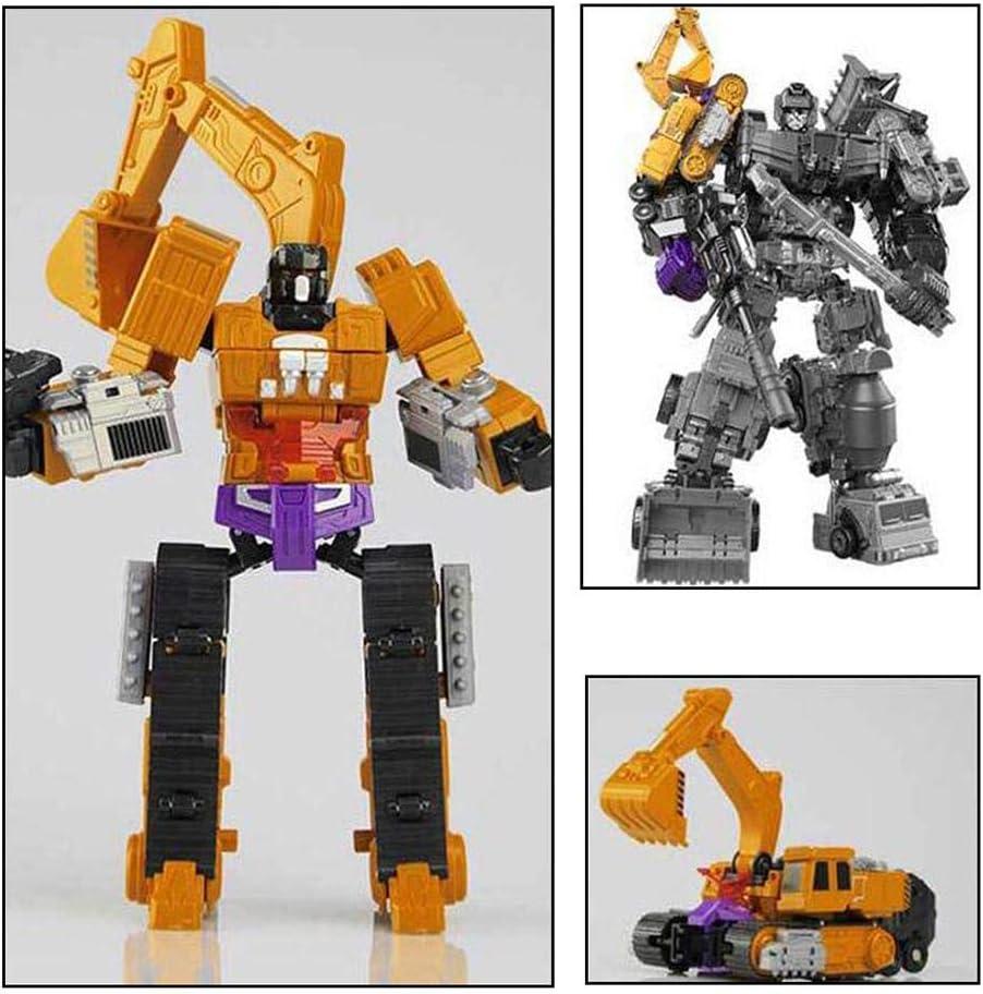 Transformer Le Robot Jouet Voiture De D/éformation 6 en 1 S/érie De V/éhicules Robot Puzzle D/'Education pour Les Gar/çons