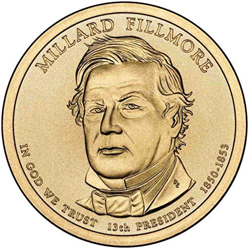 2010 D Fillmore Presidential Dollar Choice Uncirculated