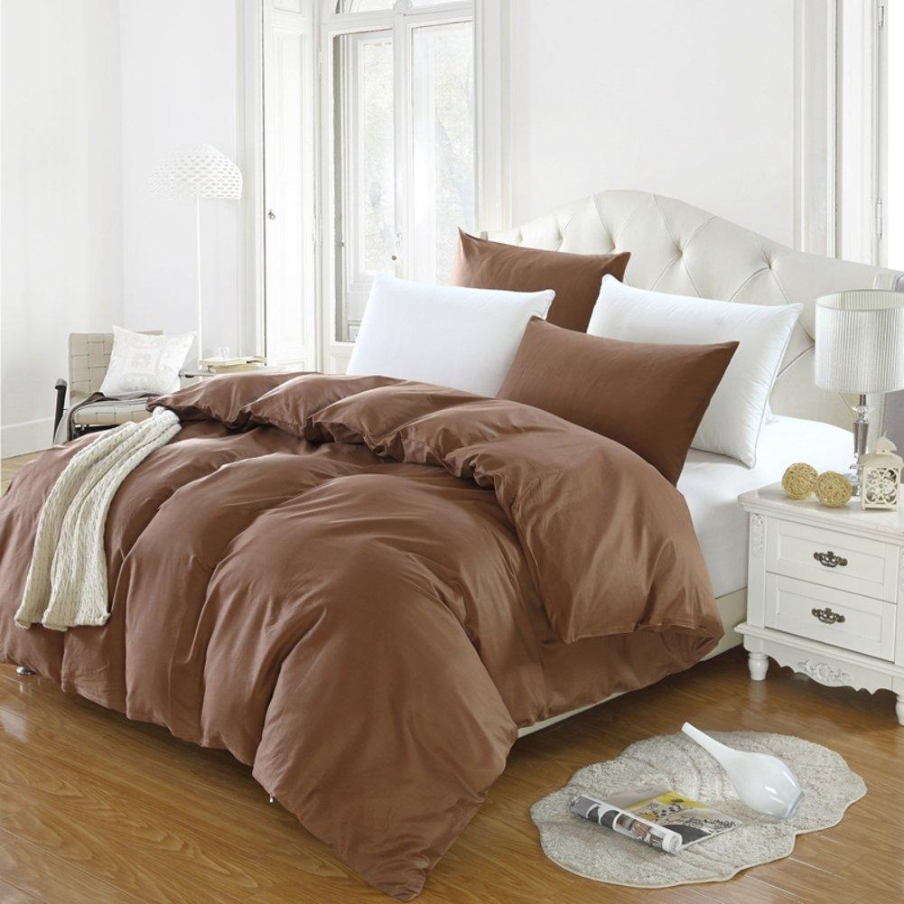 100% cotton Duvet cover Single Solid color [summer] [double] Quilt cover Single Simple [double] Quilt cover-C 220x240cm(87x94inch)