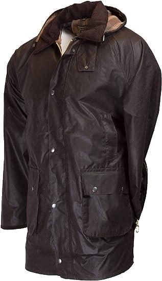 Walker and Hawkes Mens Game Poacher Pocket Cupra Wax Jacket Countrywear