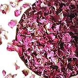 Cheap Organic Dried Rose Petals, Egypt, non-GMO, Culinary-grade (3.2 oz/90 grams)