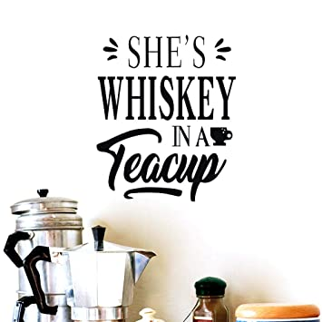 Amazon.com: BIBITIME She\'s Whiskey in a Teacup - Vinilo ...