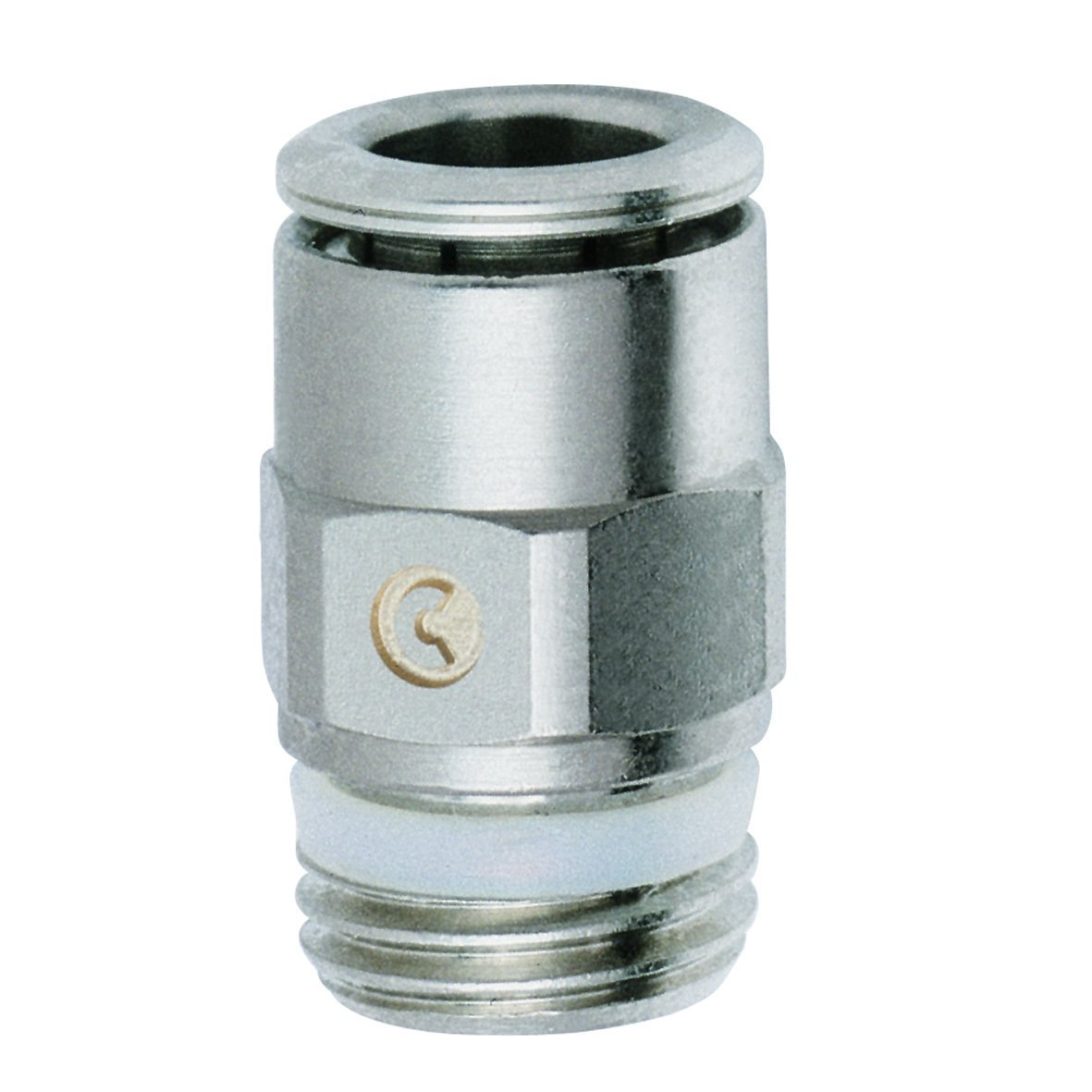 Camozzi Pro-Fit P6510 06-06 Tube Adapter, 3/8'' x 3/8'', Push-In Tube x NPTF 10 pack