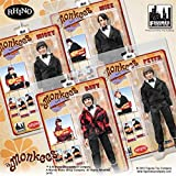 The Monkees; 8 inch action figures Series 1; TUXEDO BAND SUIT set of 4 figures