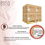 """enKo [1 Rolls, 220 Labels] Direct Thermal Address & Shipping Labels Compatible with Zebra and Dymo 1744907 (4 x 6"""") for UPS, USPS, FedEx"""
