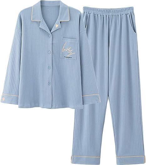 LASERIPLF Camisa de Noche para Mujer, Conjunto de Pijama para Mujer, Ropa de Dormir para Mujer, Pijama para Mujer, Ropa de Dormir para Tallas Grandes, Pijama de Pareja-Woman-M: Amazon.es: Deportes y aire