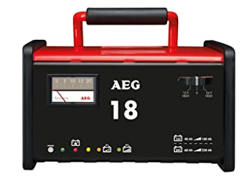 AEG Automotive 97010 Cargador de Taller WM 18 A para ...
