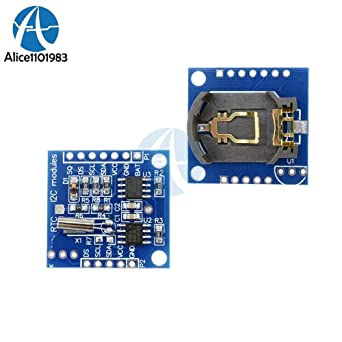 Muccus IIC I2C RTC DS1307 AT24C32 Real Time Clock Module Board for