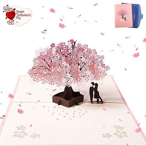 Nactech Pop Up Tarjeta Amor 3d Tarjeta De Felicitacion Cumpleanos
